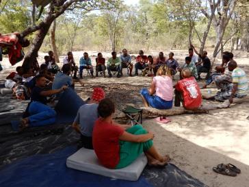 Beim Wort Gottes im Paradise-Camp