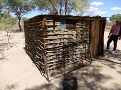 Haus eines Buschmanns